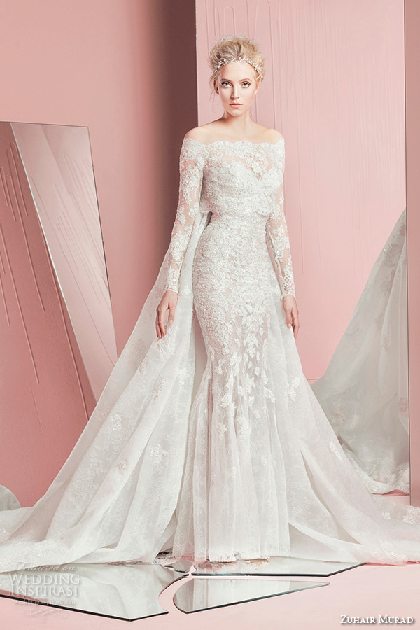 Zuhair Murad 2016 Aphrodite Wedding Dress 57