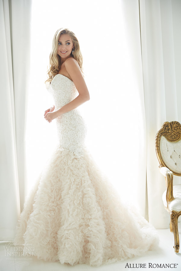 Allure romance fall 2015 bridal collection sponsor for Allure romance wedding dress