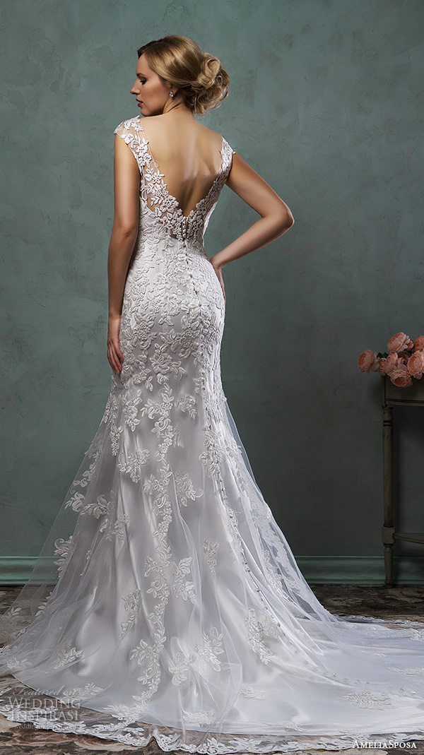 Amelia Sposa 2016 Wedding Dresses - BridalPulse