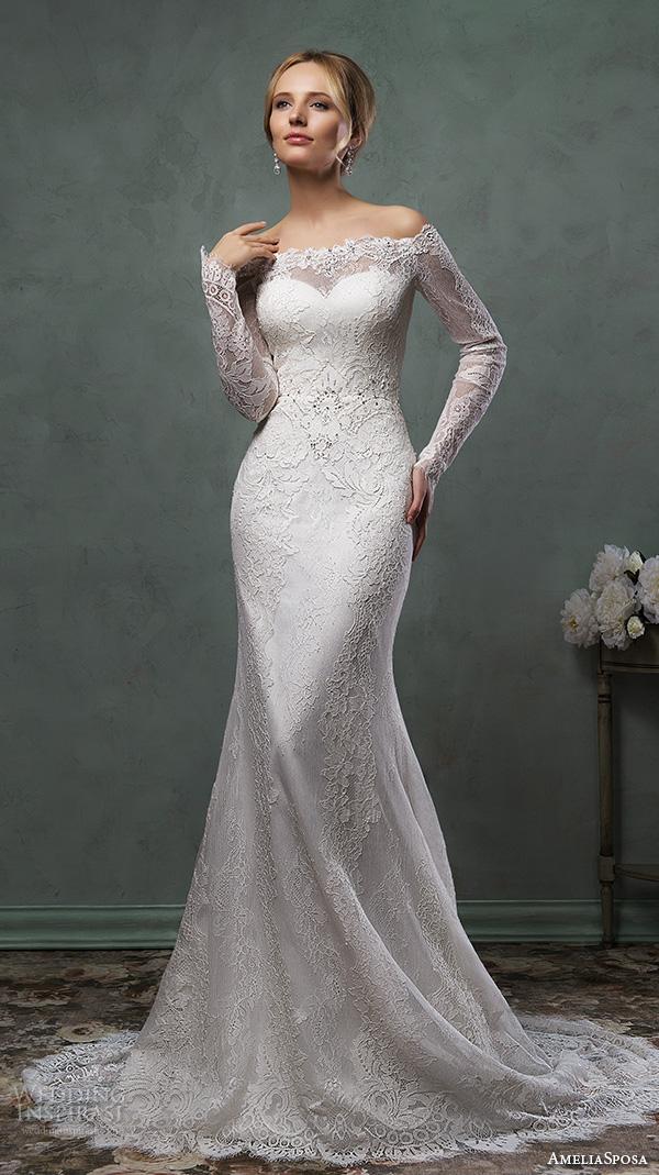 6caca577fcec8 Amelia Sposa 2016 Wedding Dresses | Wedding Inspirasi