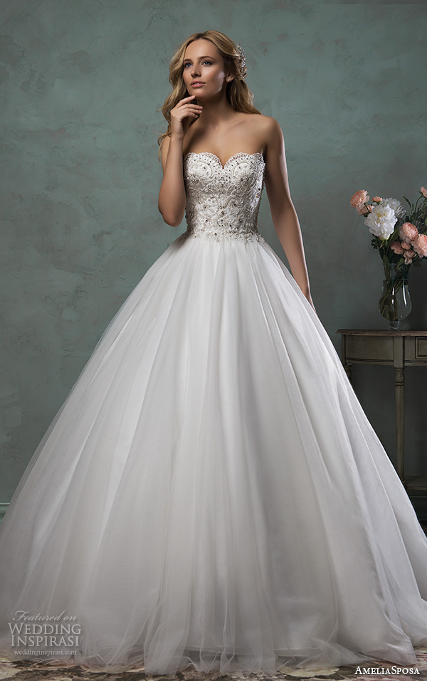 Plus Size Princess Ball Gown Wedding Dresses