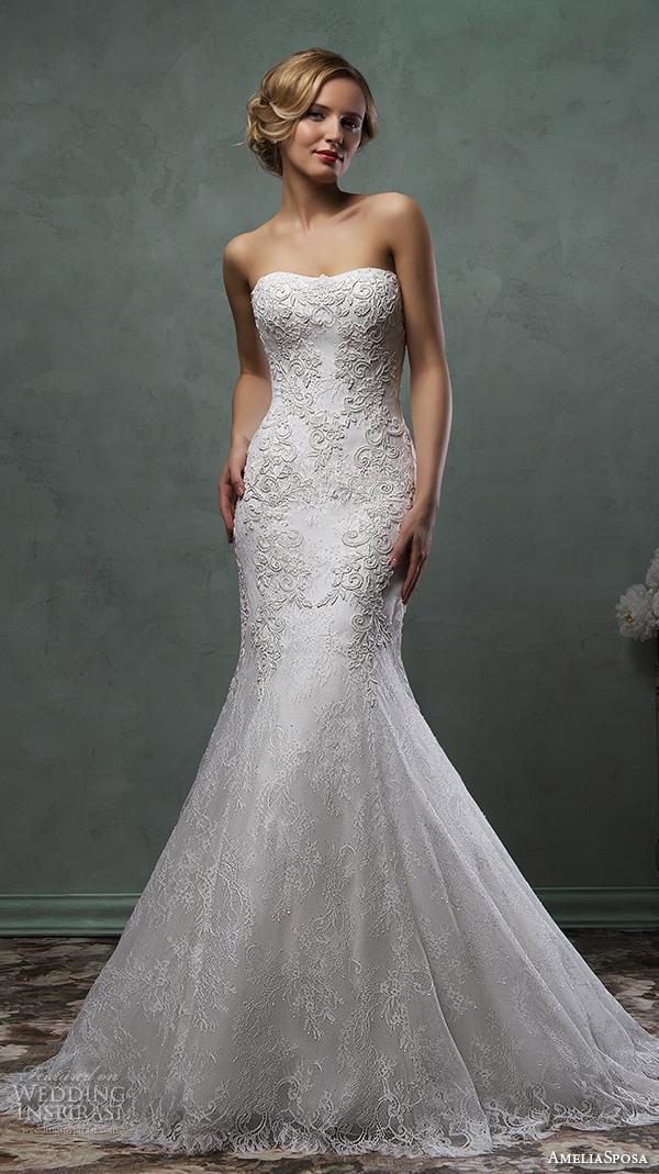 Amelia Sposa 2016 Wedding Dresses Inspirasi