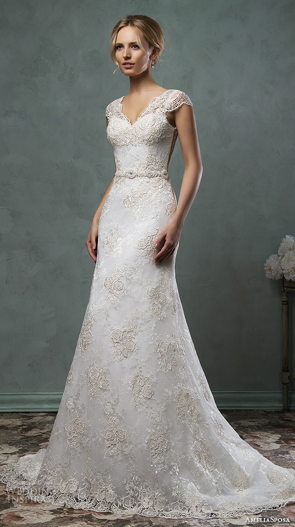 Lace Wedding Gowns 2016