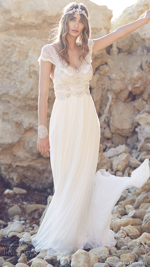 Anna Campbell Wedding Dresses Spirit Bridal Collection Wedding