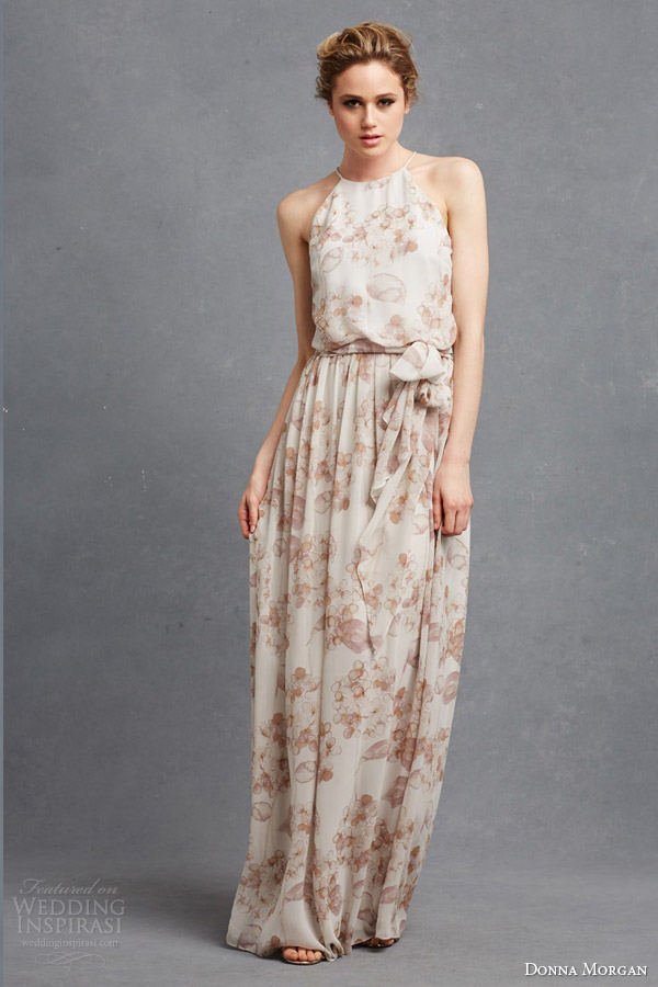 16d21b44636 donna morgan bridal bridesmaids collection sleeveless alana print  bridesmaid gown