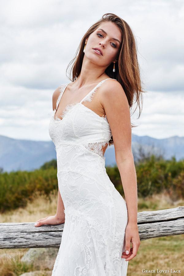 French Lace Wedding Dresses 62 Elegant grace loves lace bridal