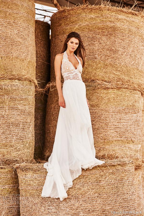 Grace Loves Lace Wedding Dresses Untamed Romance Bridal Shoot