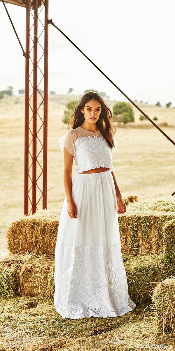 French Lace Wedding Dresses 61 Fabulous grace loves lace bridal