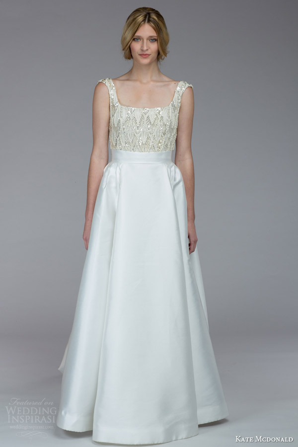 kate mcdonald bridal fall 2015 barrymore wedding dress sequin bodice