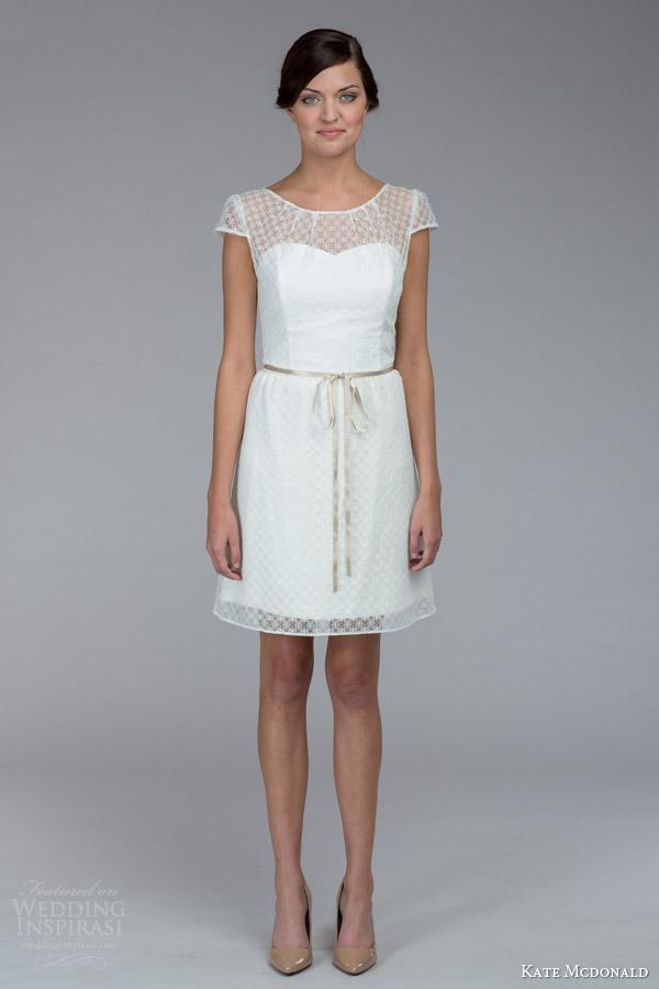 Kate Mcdonald Fall 2015 Wedding Dresses Bridalpulse