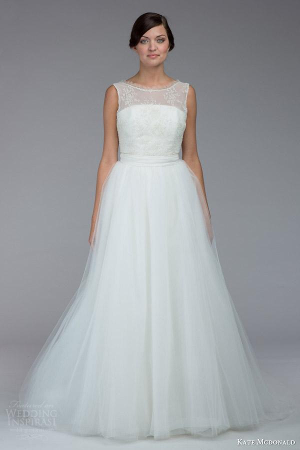 Sleeveless Wedding Dress 68 Stunning kate mcdonald bridal fall