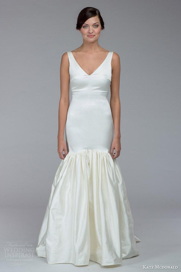 Portrait Collar Wedding Dress 58 Superb kate mcdonald bridal fall
