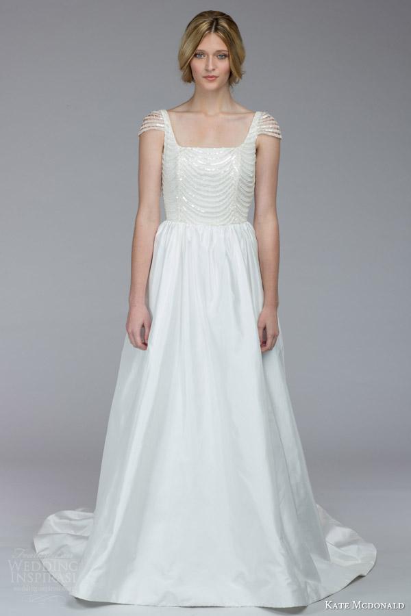 Kate McDonald Fall 2015 Wedding Dresses | Wedding Inspirasi