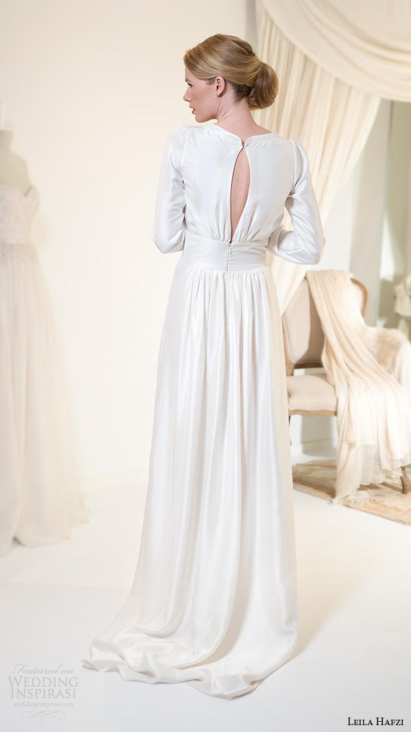 Simple Silk Wedding Dresses 29 Great leila hafiz wedding dresses