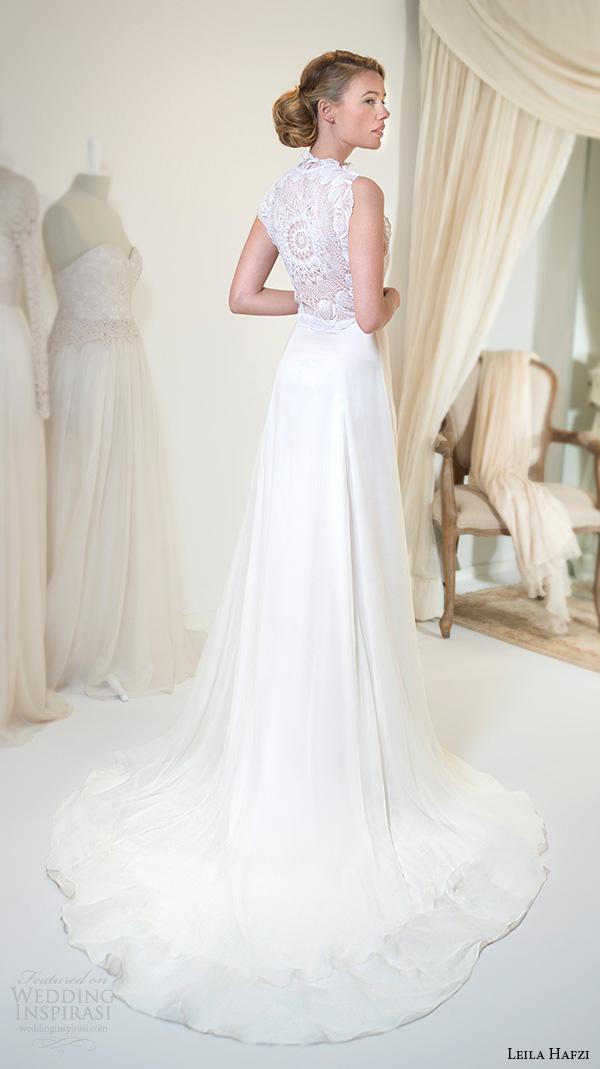 Sheath Wedding Gown Pattern : Leila hafzi wedding dresses royaye sefid vi asha bridal