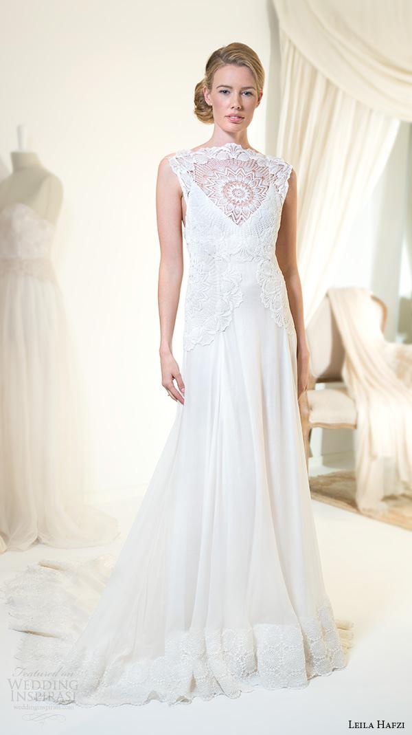 Aurora Wedding Dress 39 Simple leila hafiz wedding dresses
