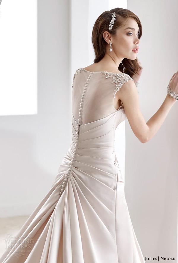 Modified Mermaid Wedding Dress 52 Unique nicole jolies wedding dresses