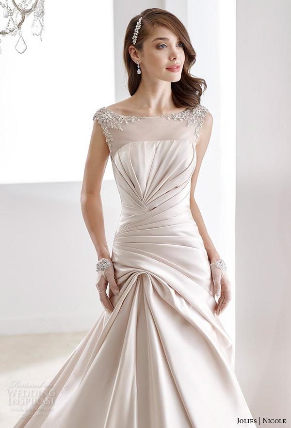 Modified Mermaid Wedding Dress 82 Simple nicole jolies wedding dresses