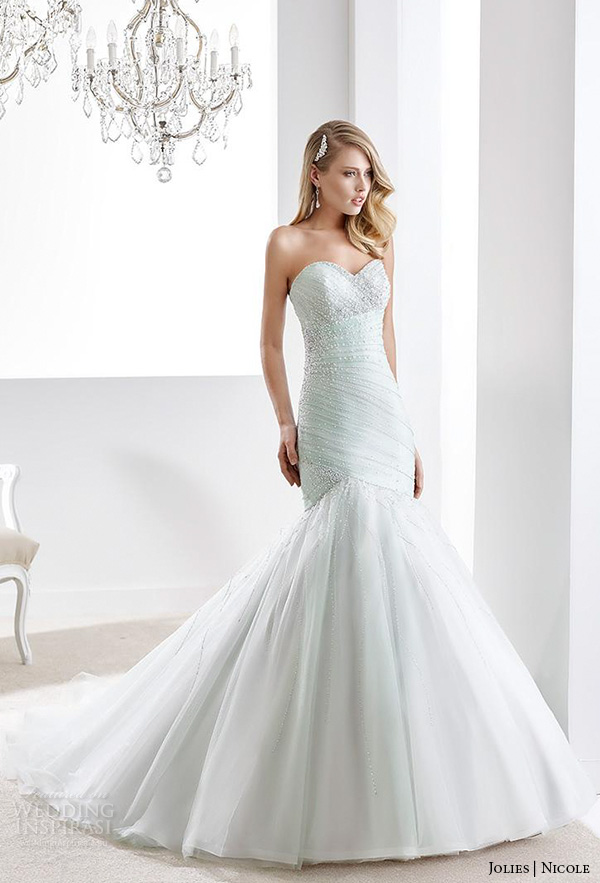 Nicole Jolies Collection 2016 Colored Wedding Dresses Wedding