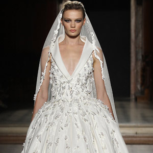 tony ward couture fall winter 2015 2016 haute couture ball gown wedding dress veil 300