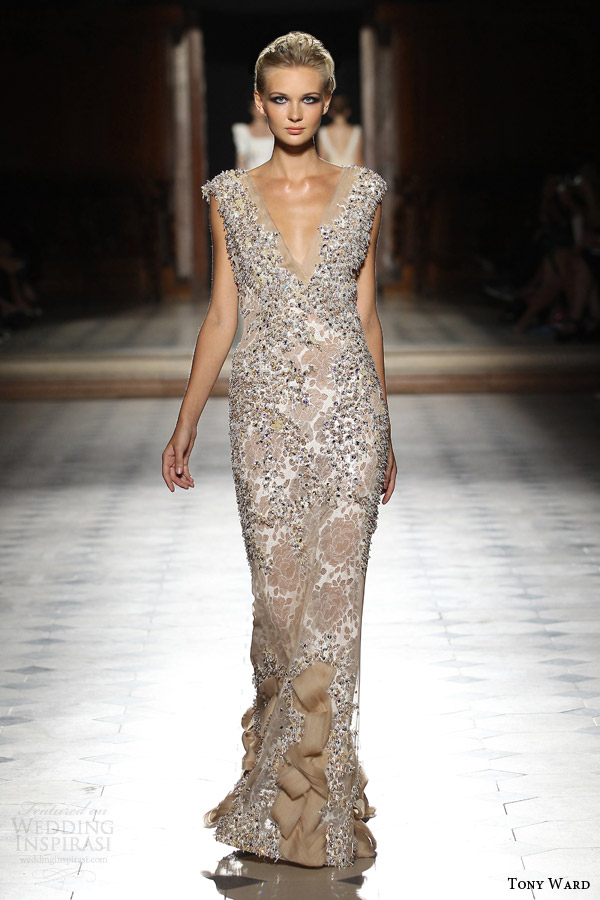 tony ward couture fall winter 2015 2016 look 19 haute couture gown embellished multi texture
