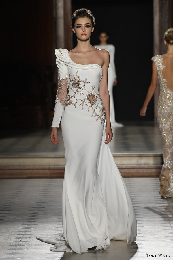 Tony ward fall winter 2015 2016 couture collection for Haute couture wedding dresses