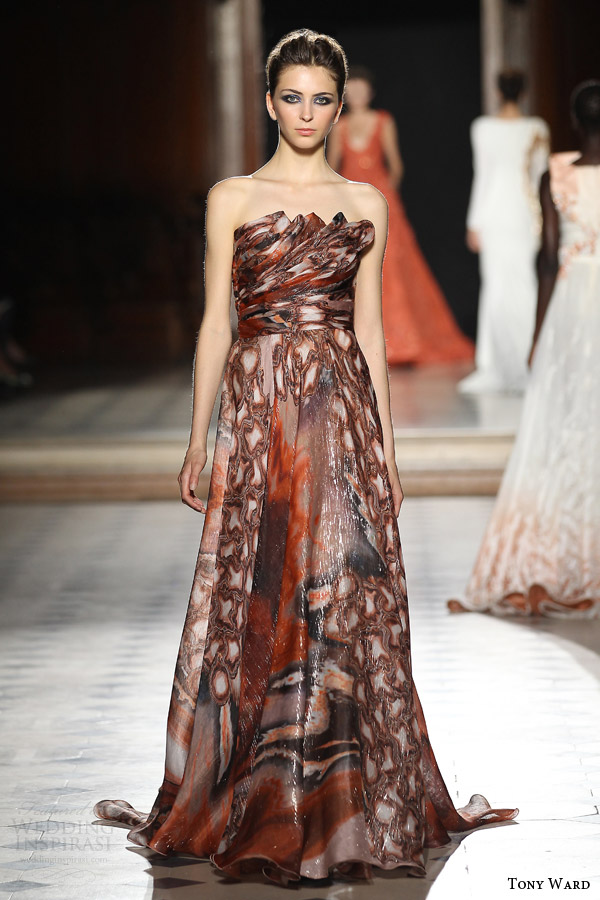 tony ward couture fall winter 2015 2016 look 23 straples haute couture dress