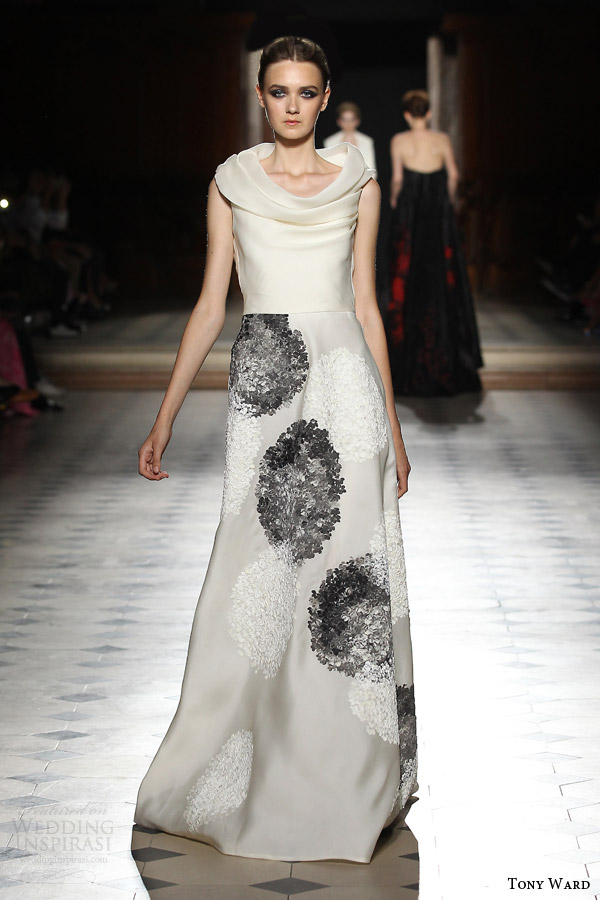 tony ward couture fall winter 2015 2016 look 28 sleeveless haute couture gown
