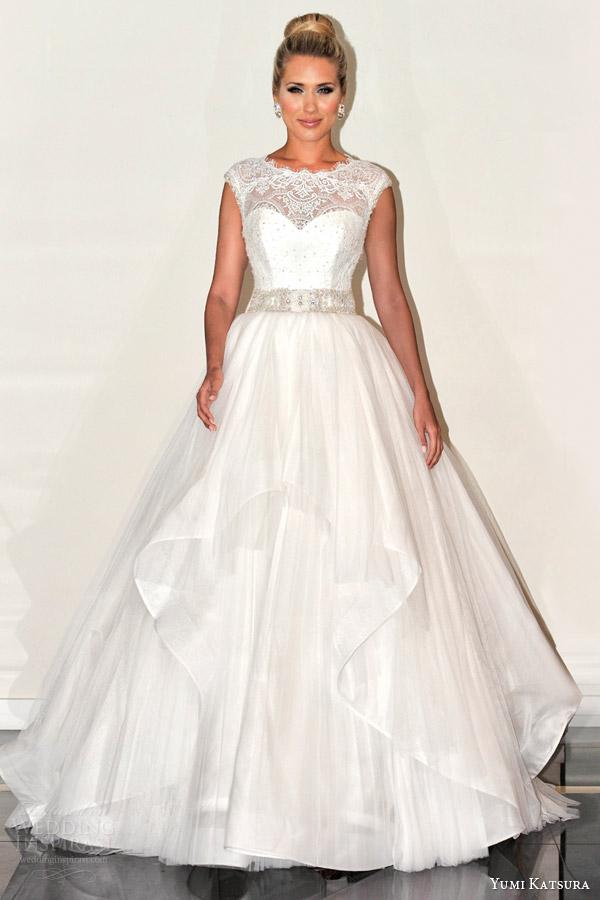 Yumi Katsura Spring 2016 Wedding Dresses Wedding Inspirasi