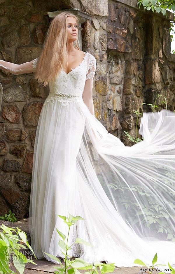 Galina Wedding Gowns 48 Perfect alvina valenta fall wedding