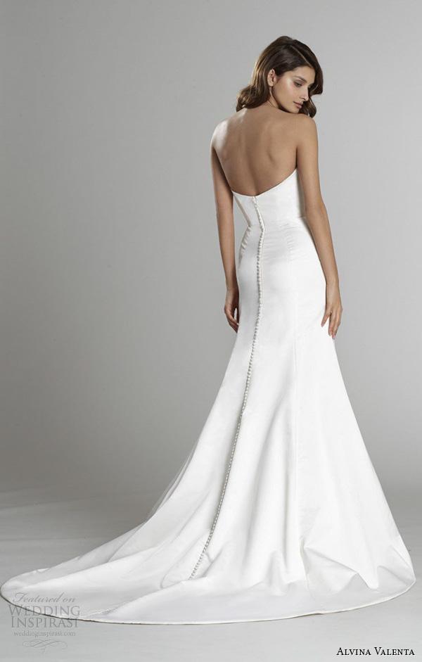 alvina valenta fall 2015 wedding dresses strapless sweetheart neckline silk faced trumpet mermaid wedding dress detachable tulle overskirt av9554