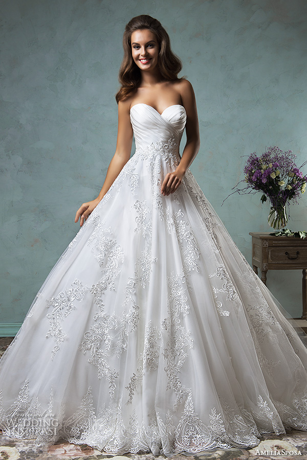Amelia sposa 2016 wedding dresses volume 2 wedding for Pretty ball gown wedding dresses