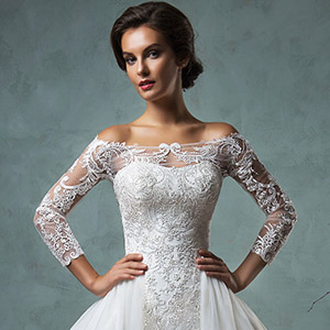 amelia sposa bridal 2016 beautiful elegant wedding dresses 300
