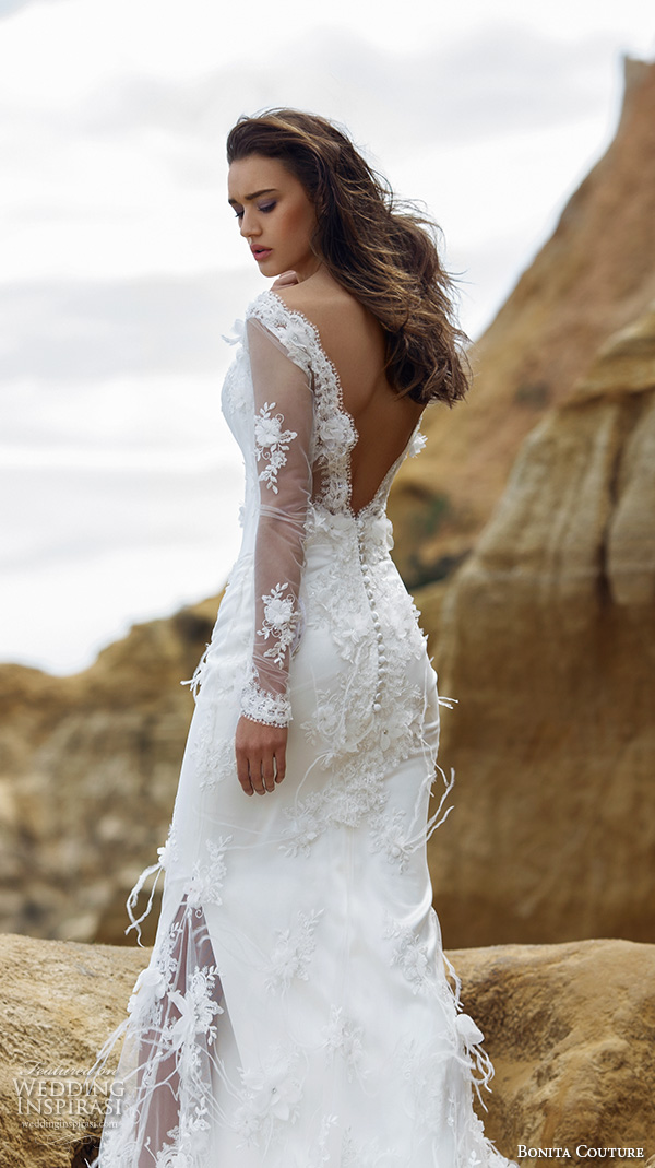 Feathered Wedding Dresses
