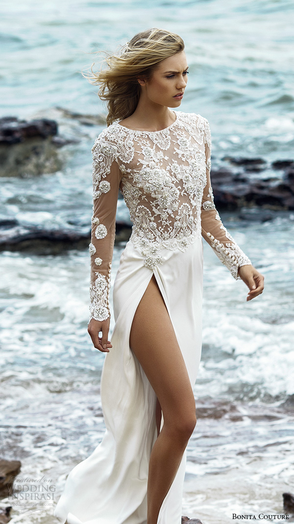 Ivory Beach Wedding Dresses