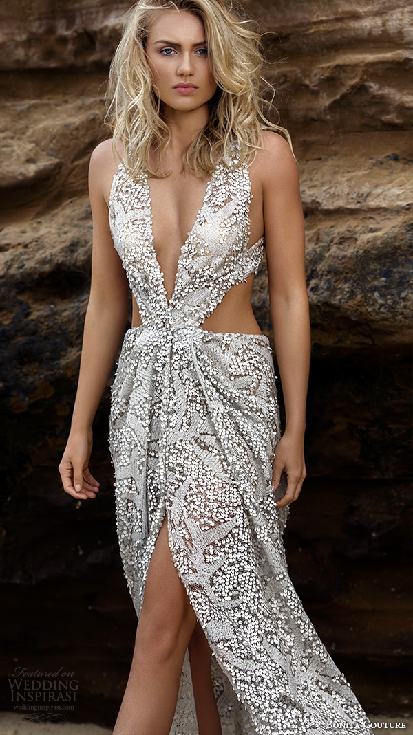 Sequined Wedding Dress