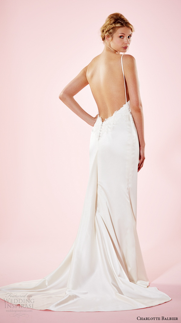 Low Open Back Wedding Dresses 35 Cute charlotte balbier bridal dresses