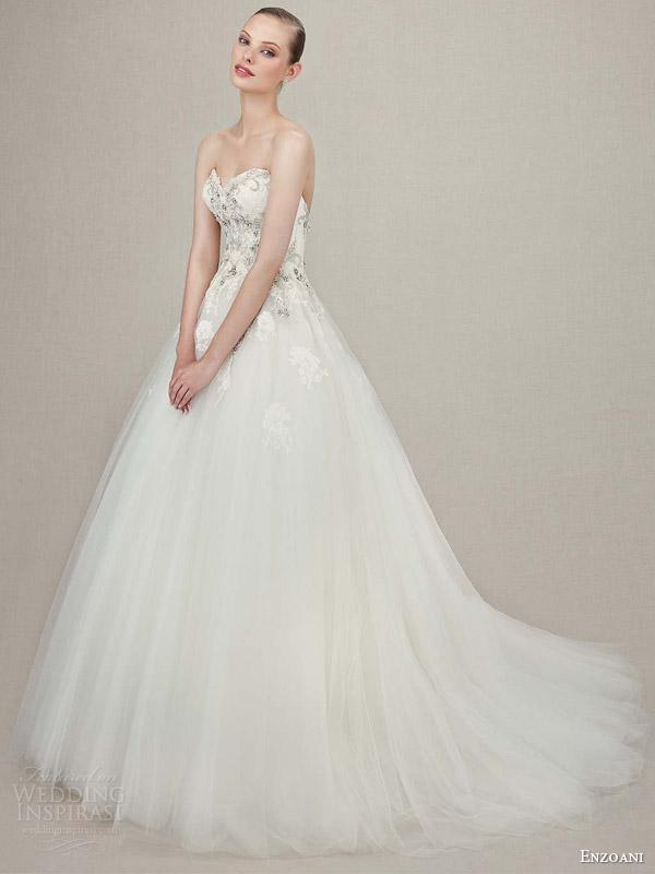 Lace Vintage Wedding Gowns 61 Unique enzoani bridal kristiana strapless