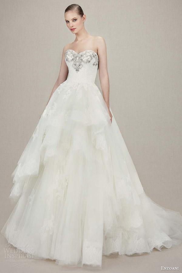 Wedding Dresses By Enzoani 30 Fabulous enzoani kylee strapless sweetheart