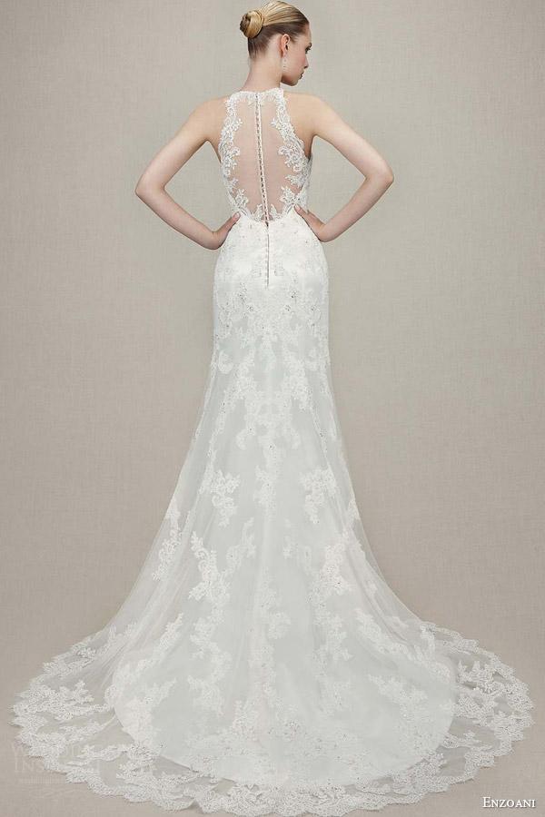 Halter Mermaid Wedding Dress 37 Elegant enzoani bridal kamila sleeveless