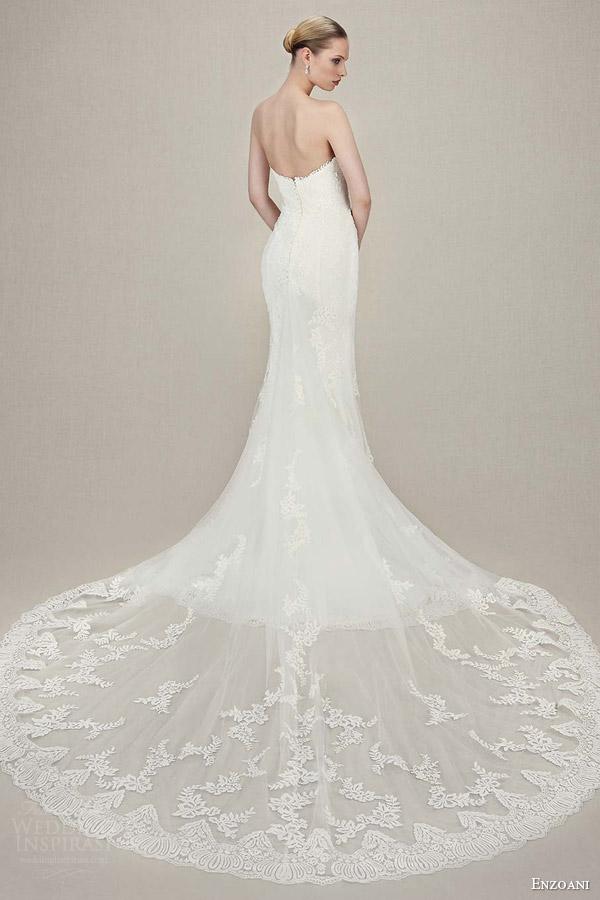 Vintage Mermaid Wedding Dresses 88 Popular enzoani bridal karolina strapless