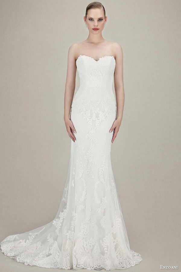 Vintage Mermaid Wedding Dresses 28 Epic enzoani bridal karolina strapless