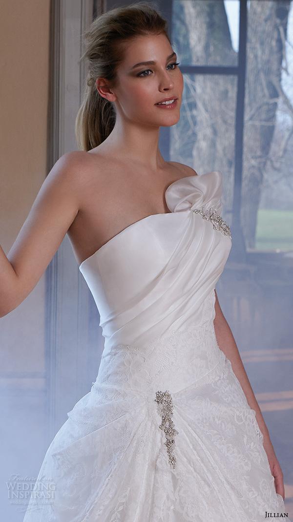 Dropped Waist Wedding Gowns 97 Spectacular jillian wedding dresses strapless