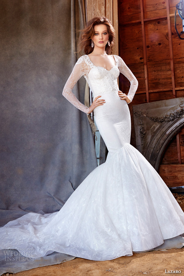 Lazaro Fall 2015 Wedding Dresses