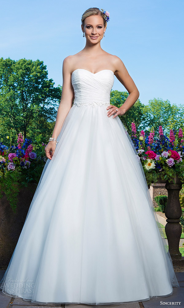 Sincerity bridal wedding dresses pictures