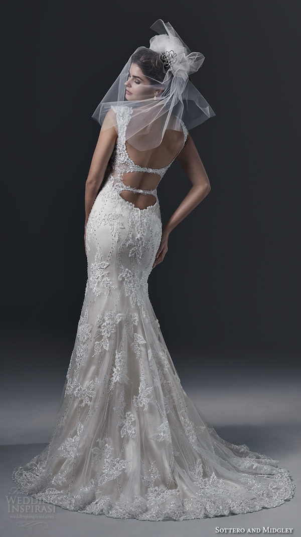 Strapless wedding dresses with beading