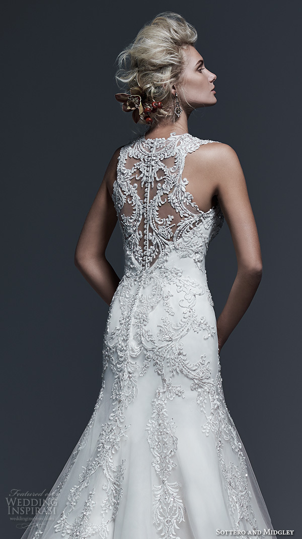 Lace Up Back Wedding Dress 87 Great sottero and midgley bridal
