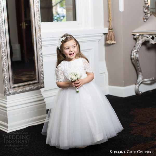 Toddler Girl Wedding Dress