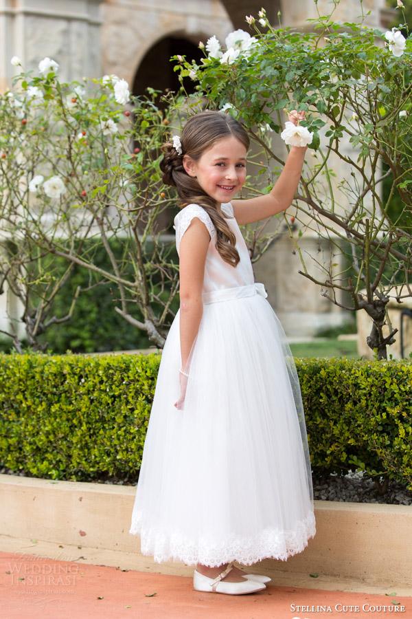 Flower Girl Dress Wedding 83 Cute stellina cute couture bridal