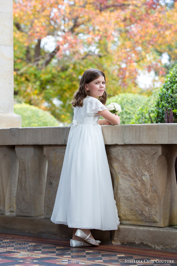 Dresses For Flower Girl In Wedding 66 Great stellina cute couture flower